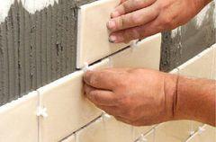 Як самому розрахувати кількість плитки на стіни, підлогу, бордюр?